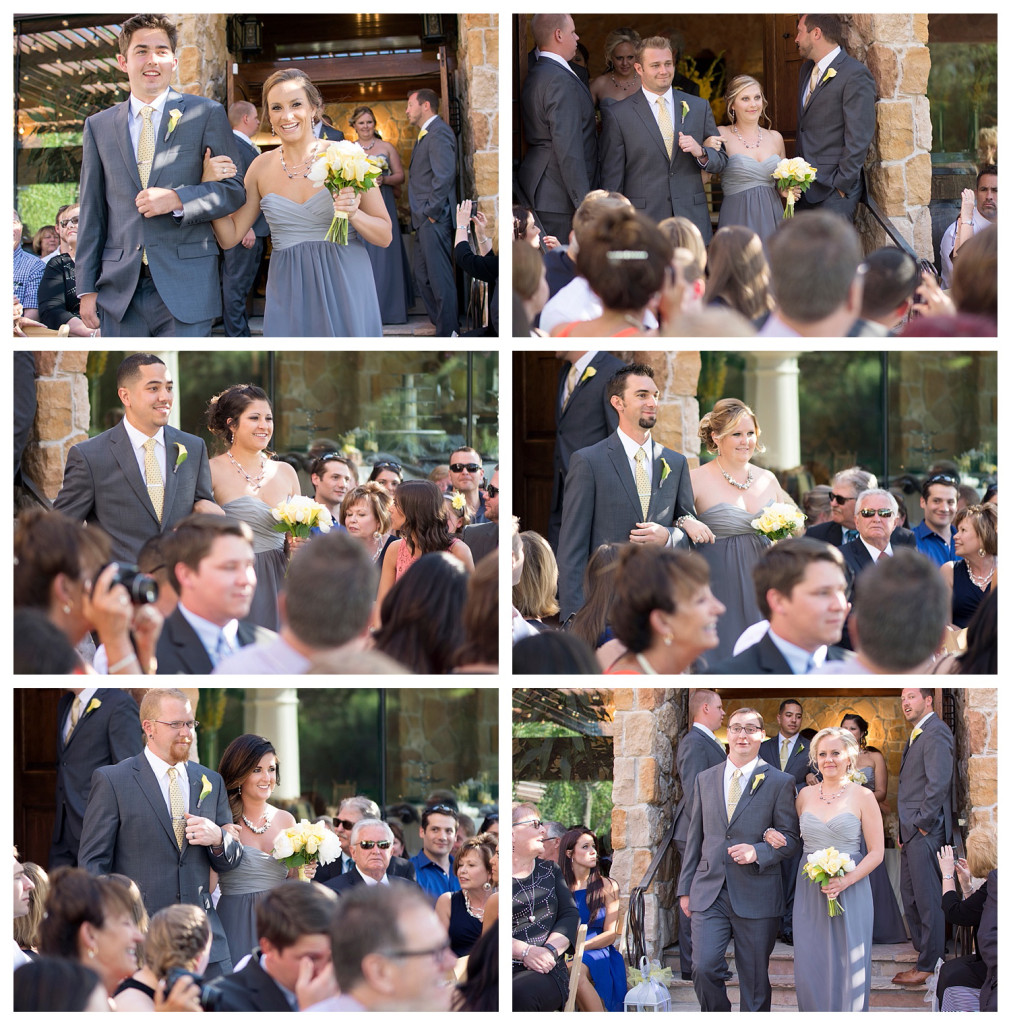 Bridal party at Baldoria on the water wedding Denver Colorado