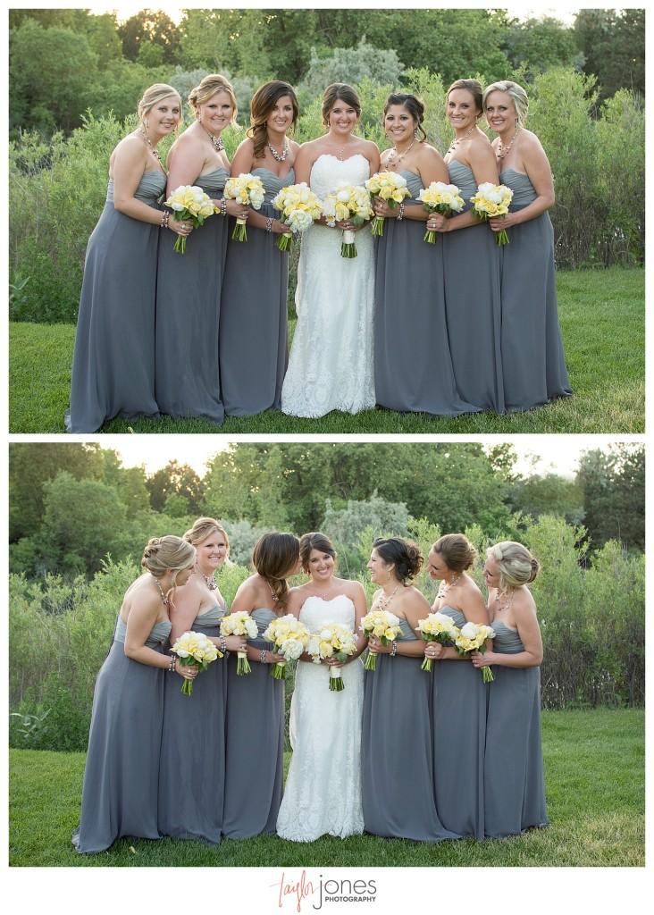 Wedding ceremony at Baldoria on the water wedding Denver Colorado