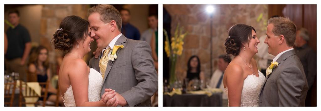 Reception at Baldoria on the water wedding Denver Colorado