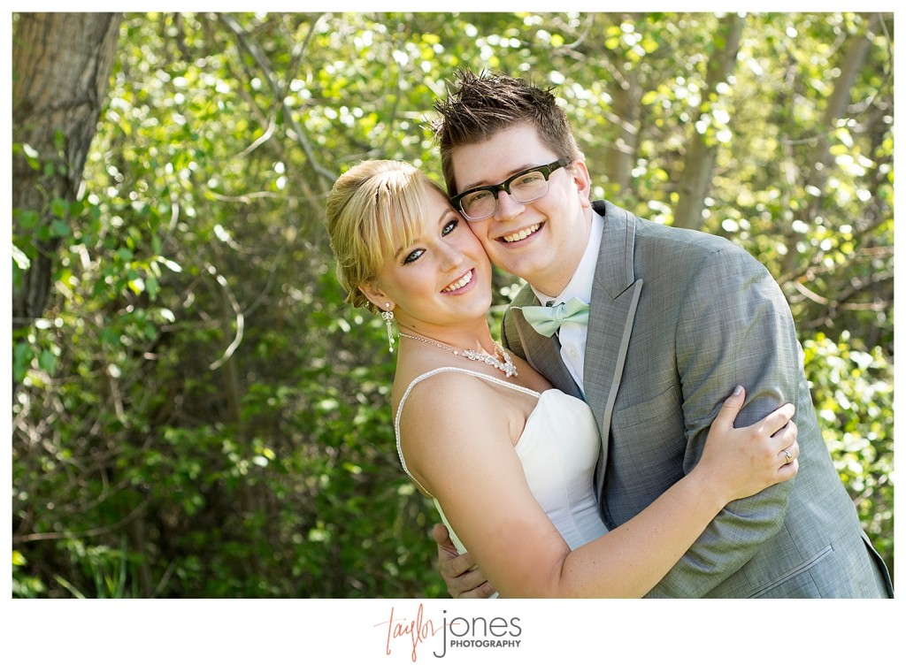 First look for Colorado wedding at Pines at Genesee wedding