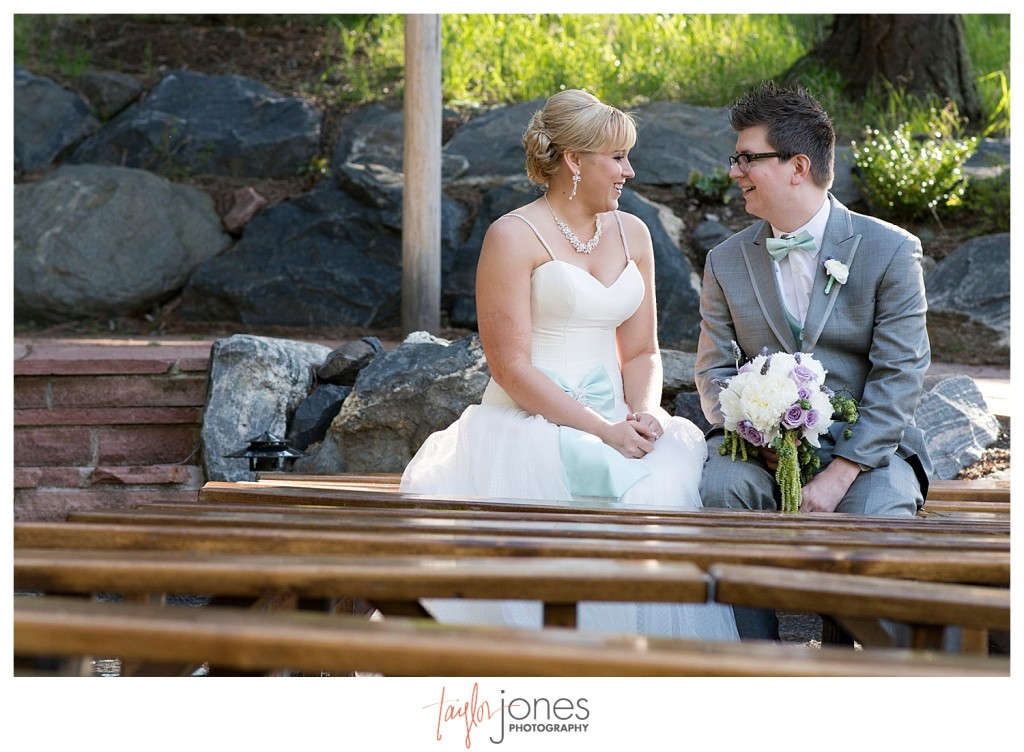 Portrait images at Pines at Genesee spring wedding with Cortney and Matt