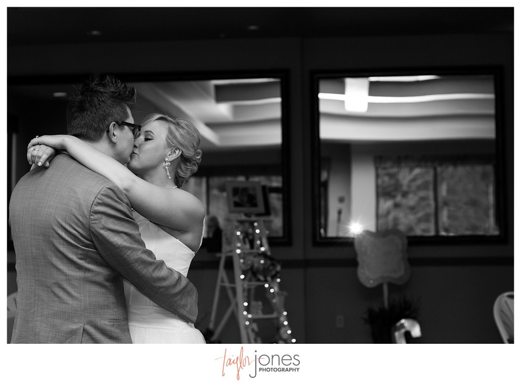 First dance at Pines at Genesee wedding reception