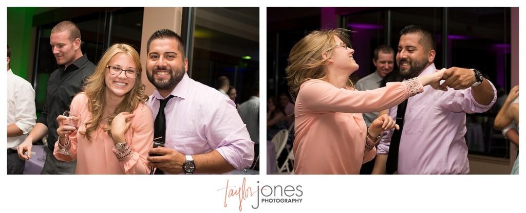 Guests at Pines at Genesee wedding reception