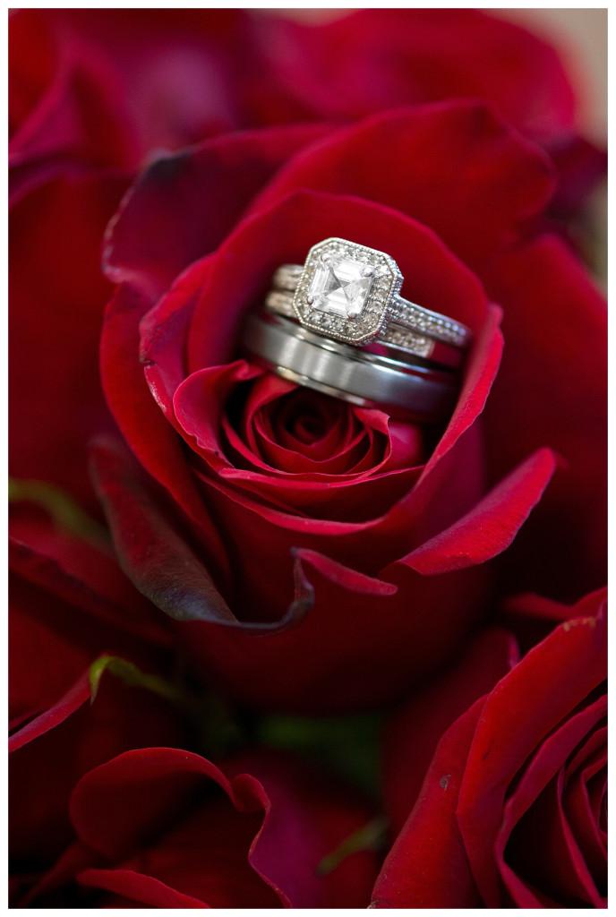 Rings at Golden hotel wedding in Golden, Colorado