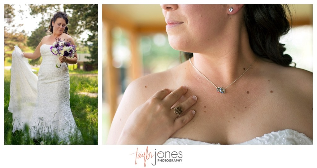 Bridal photos of Alexei for Mt. Vernon Country Club wedding in Golden, Colorado