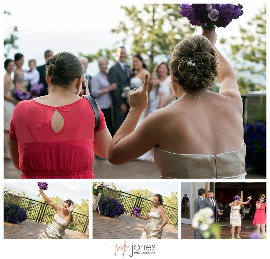 Photographer at Wedding ceremony at Mount Vernon Country Club in Golden, Colorado