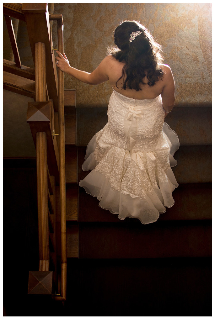 Bridal portraits at Reception at Mount Vernon Country Club Wedding