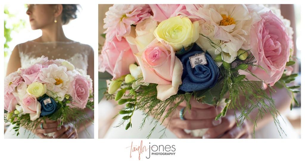 Bride flowers at YMCA of the Rockies Estes Park Colorado