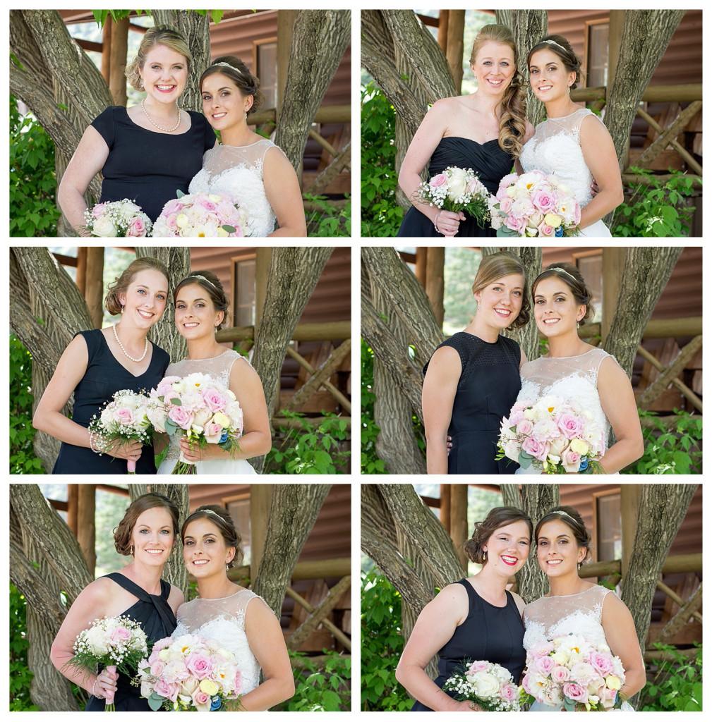 Bridesmaids in Estes Park Colorado