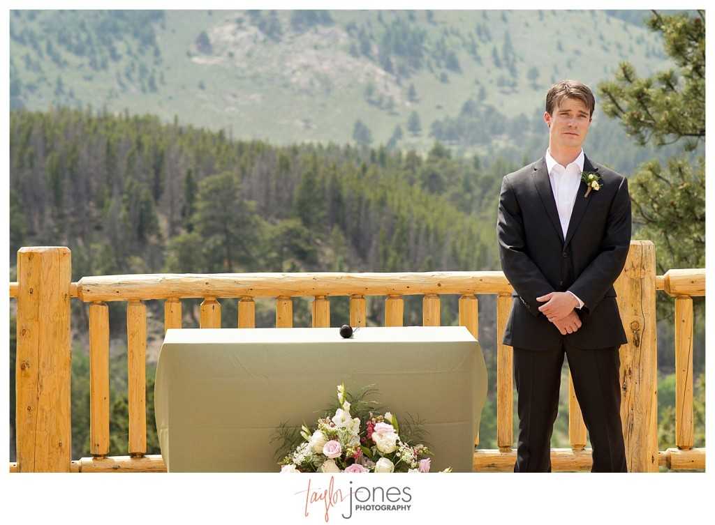 Ceremony at YMCA of the Rockies in Estes Park, Colorado