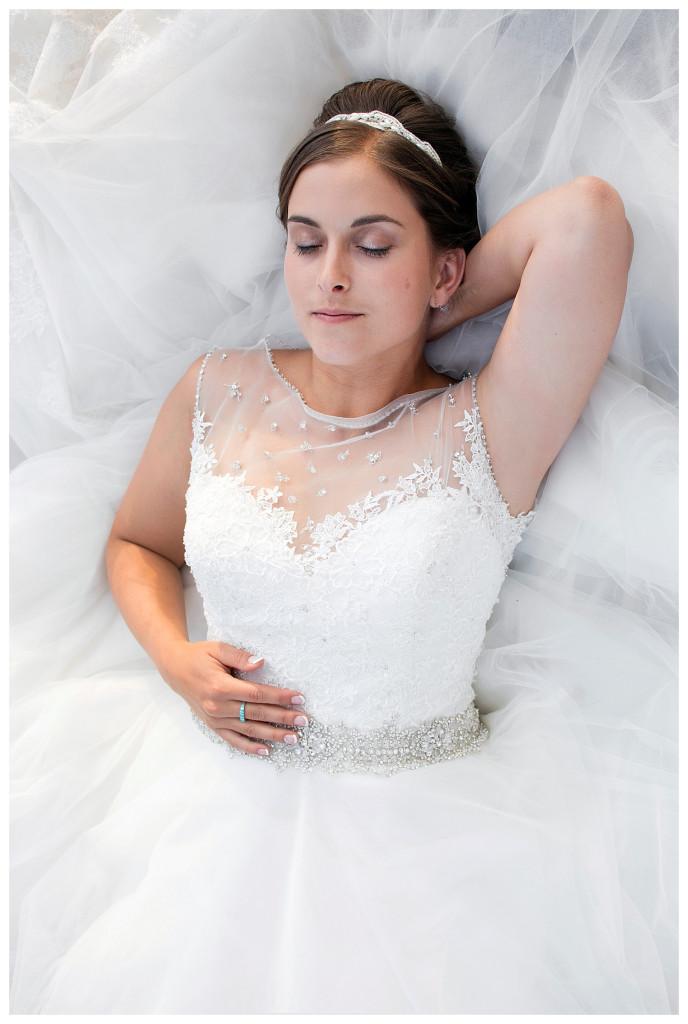 Bridal portraits at YMCA of the Rockies Estes Park Colorado