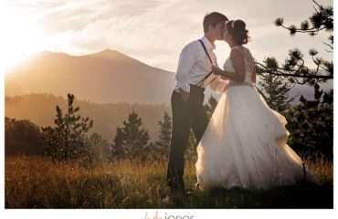 Couple portraits at YMCA of the Rockies Estes Park Colorado