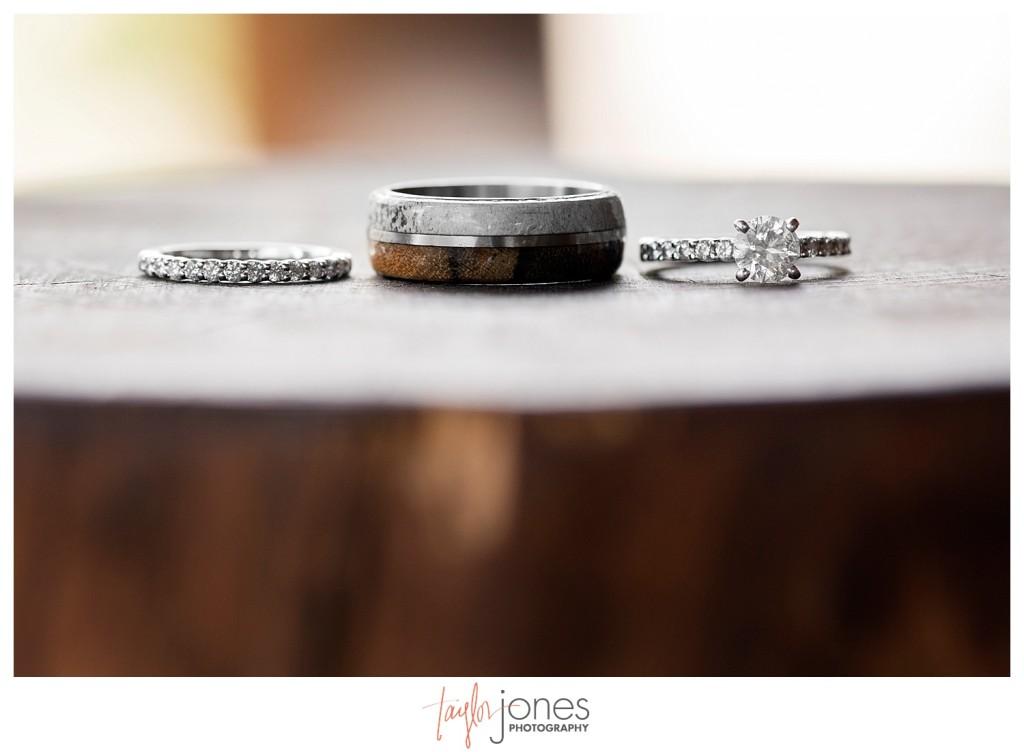Black Canyon Inn Estes Park wedding rings