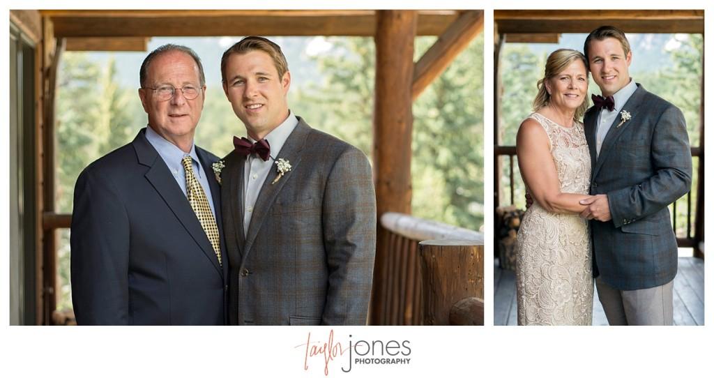 Black Canyon Inn Estes Park wedding family