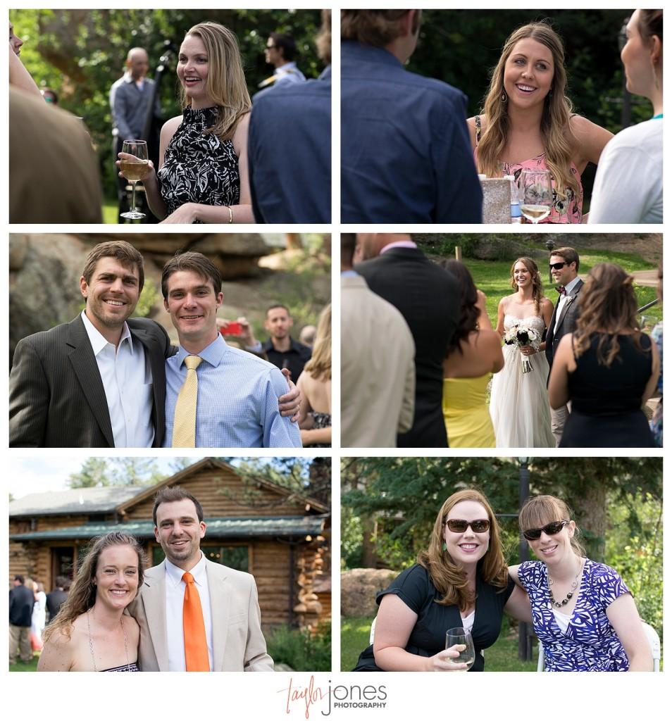 Black Canyon Inn Estes Park wedding reception
