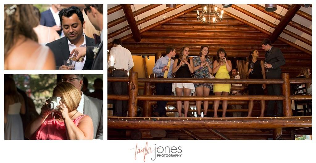 Black Canyon Inn and Twin Owls Steakhouse Estes Park wedding reception