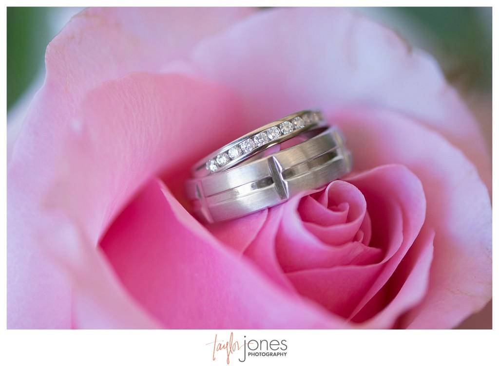 Crested Butte Colorado summer wedding ring shot