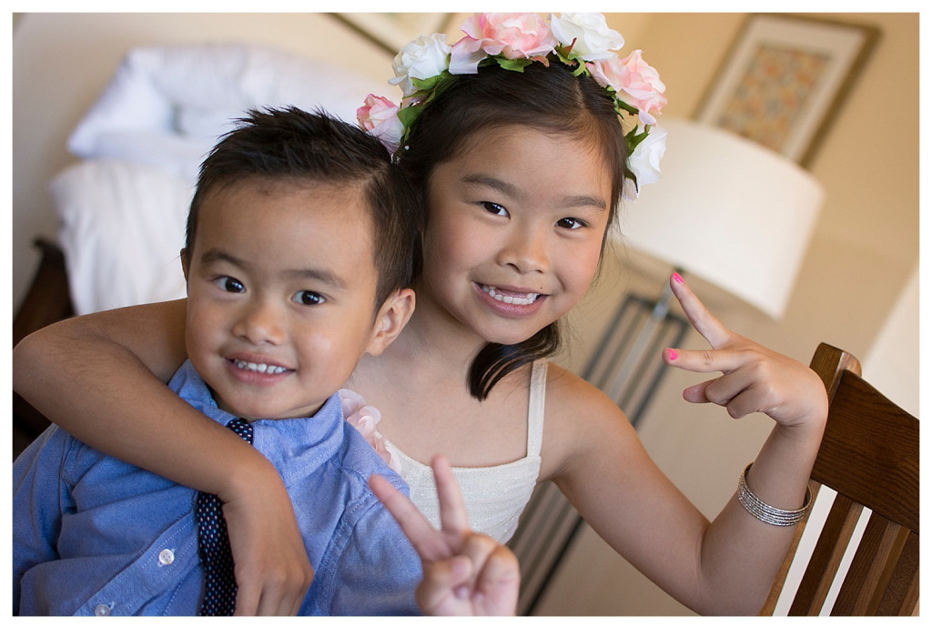 Crested Butte Colorado summer wedding kids playing