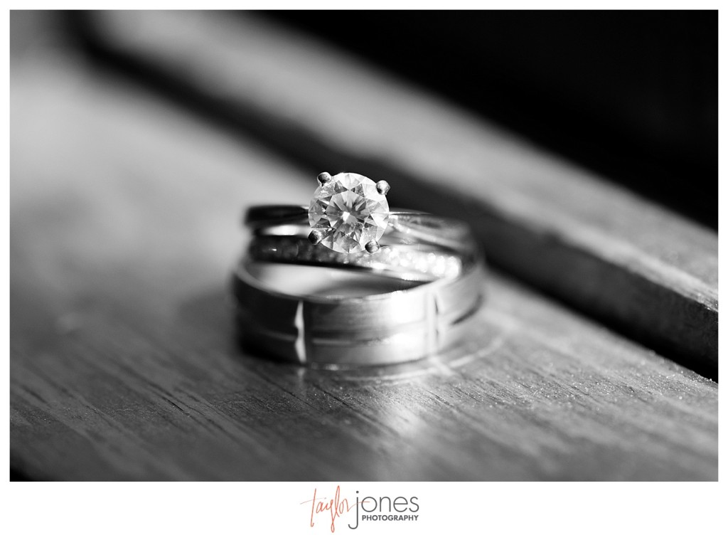 The Club at Crested Butte summer wedding rings