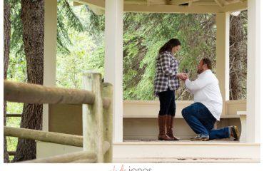 Austin and Morgan engagement proposal at Pine Valley Ranch Park Colorado