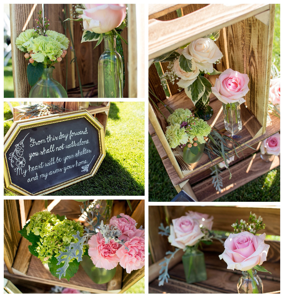 The Club at Crested Butte summer wedding details Colorado Apple Crates