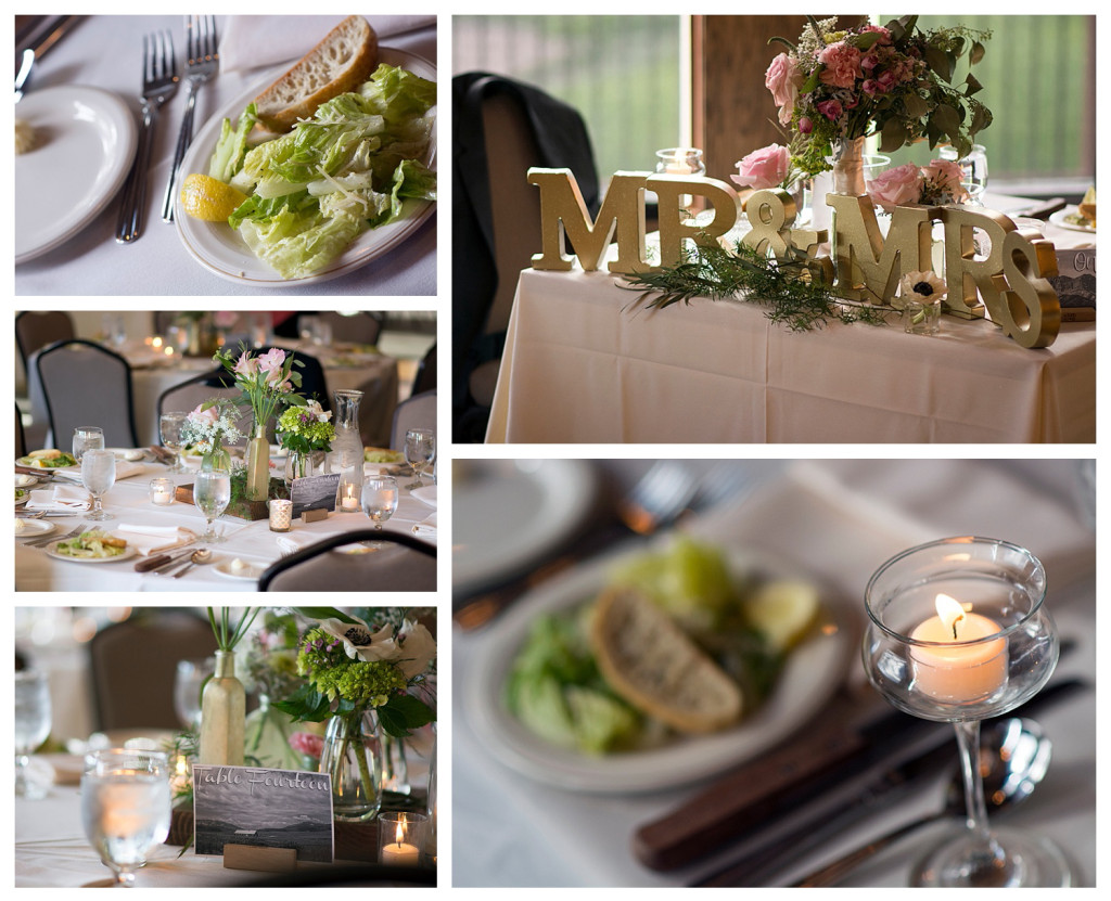Wedding reception at The Club at Crested Butte