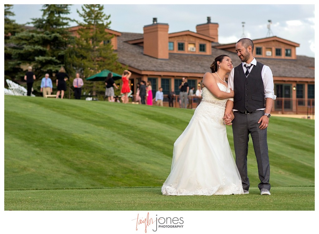 Wedding reception at The Club at Crested Butte portraits