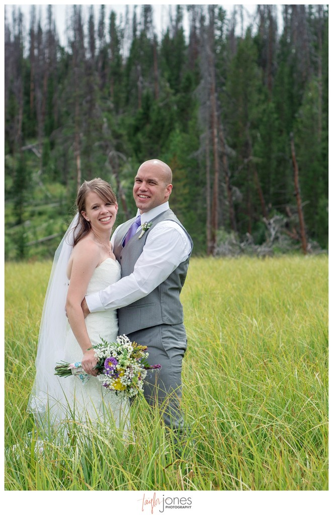 Grand Lake Colorado wedding at the Double A Barn portraits