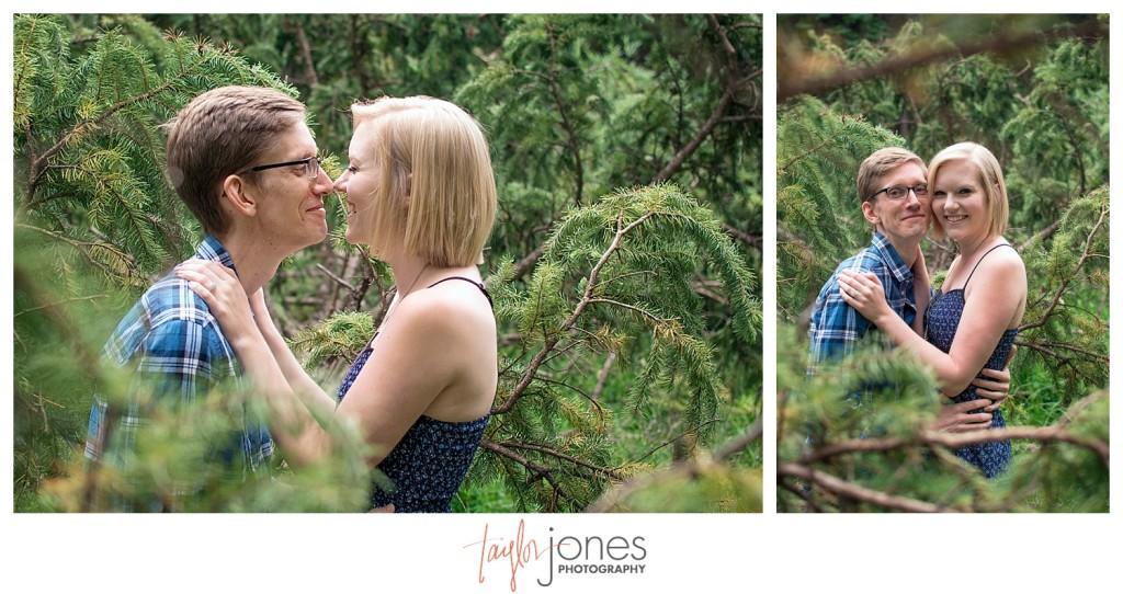 Maxwell Falls Conifer engagement shoot