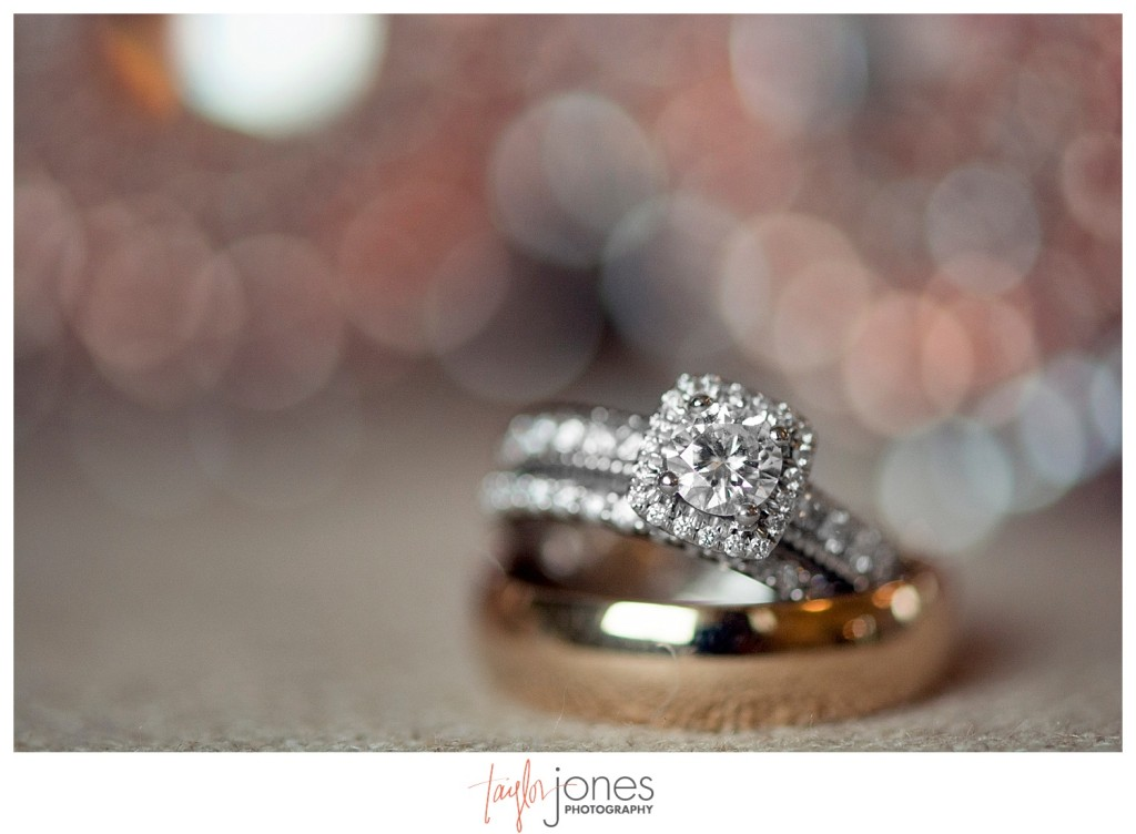 Botanic Gardens at Chatfield wedding rings