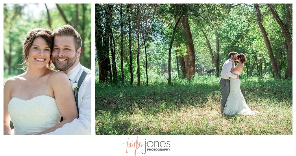 Botanic Gardens at Chatfield wedding bride and groom first look portraits