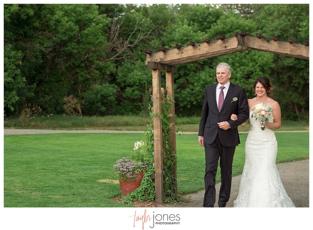 Botanic Garden at Chatfield wedding ceremony