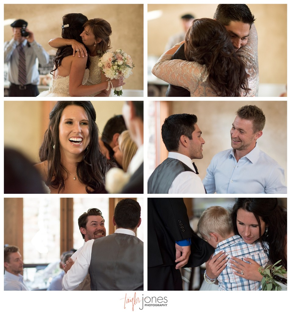 Della Terra Estes Park wedding reception