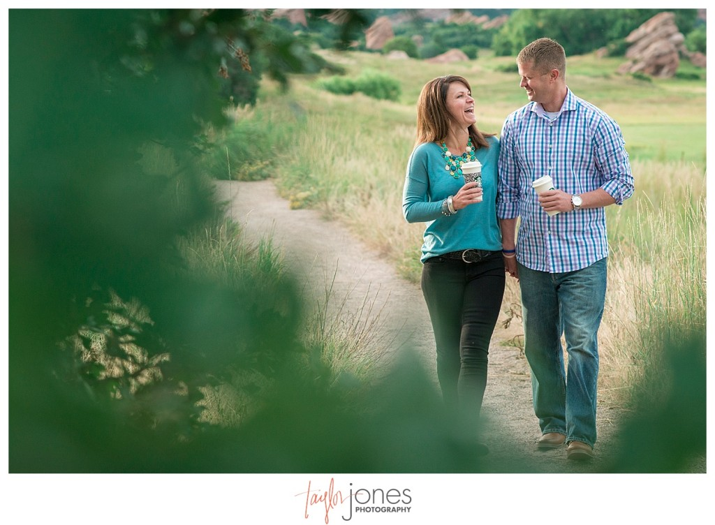 Colorado engagement shoot at South Valley Park with Kristin and Clay