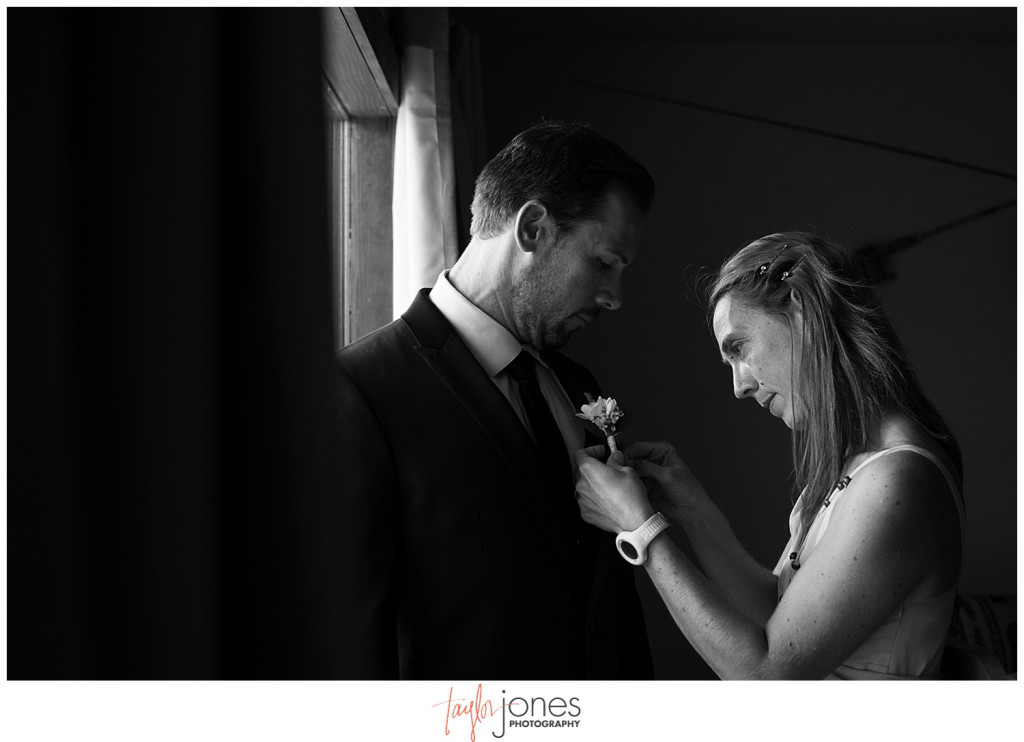 Lower Lake Ranch Pine Colorado wedding photographer groom getting ready