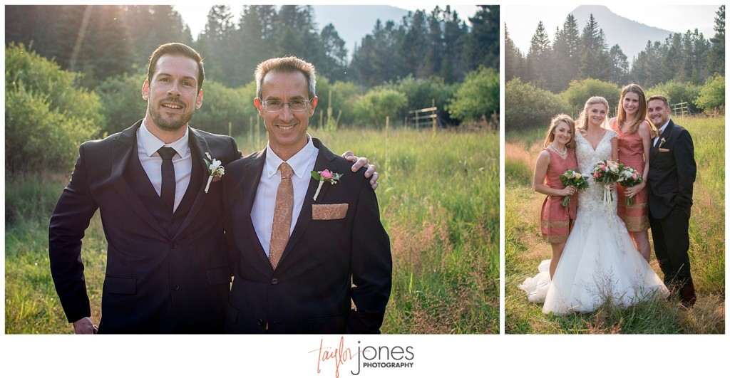Lower Lake Ranch Pine Colorado wedding photographer portraits
