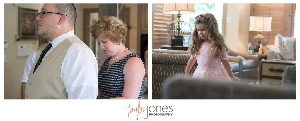 Breckenridge mountain wedding guest details getting ready