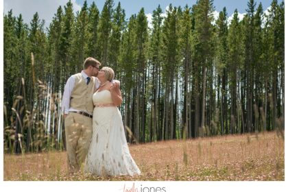 Breckenridge mountain wedding gondola ride first look