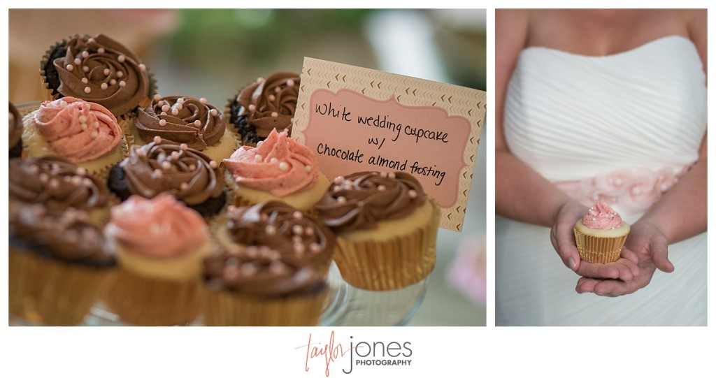 Breckenridge mountain wedding details cupcakes