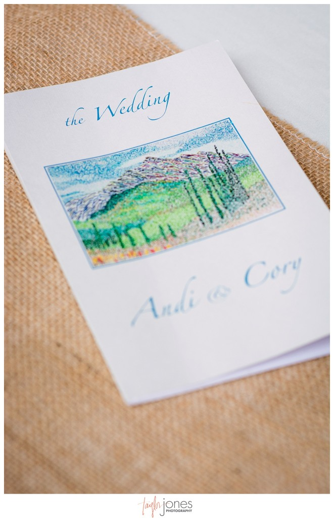 Breckenridge mountain wedding details ceremony
