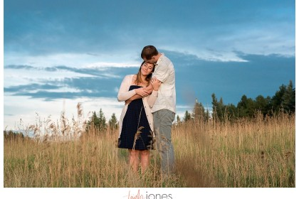 Colorado engagement shoot photographer Conifer, Colorado Meyer Ranch