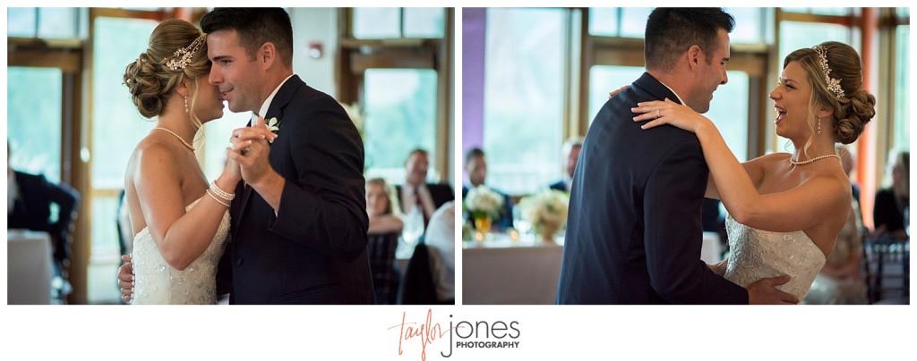 Arrowhead Golf Course fall wedding reception