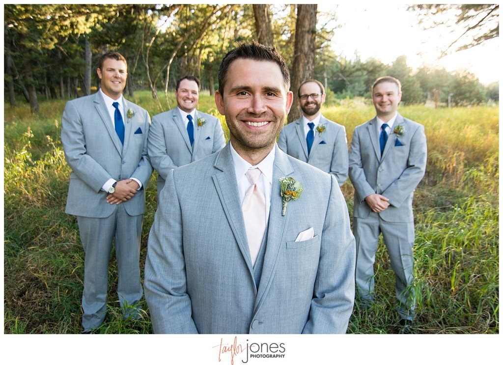 Pines at Genesee fall wedding portraits