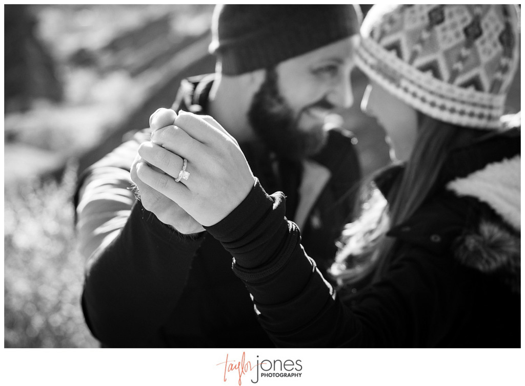 Red Rocks Colorado proposal photographer