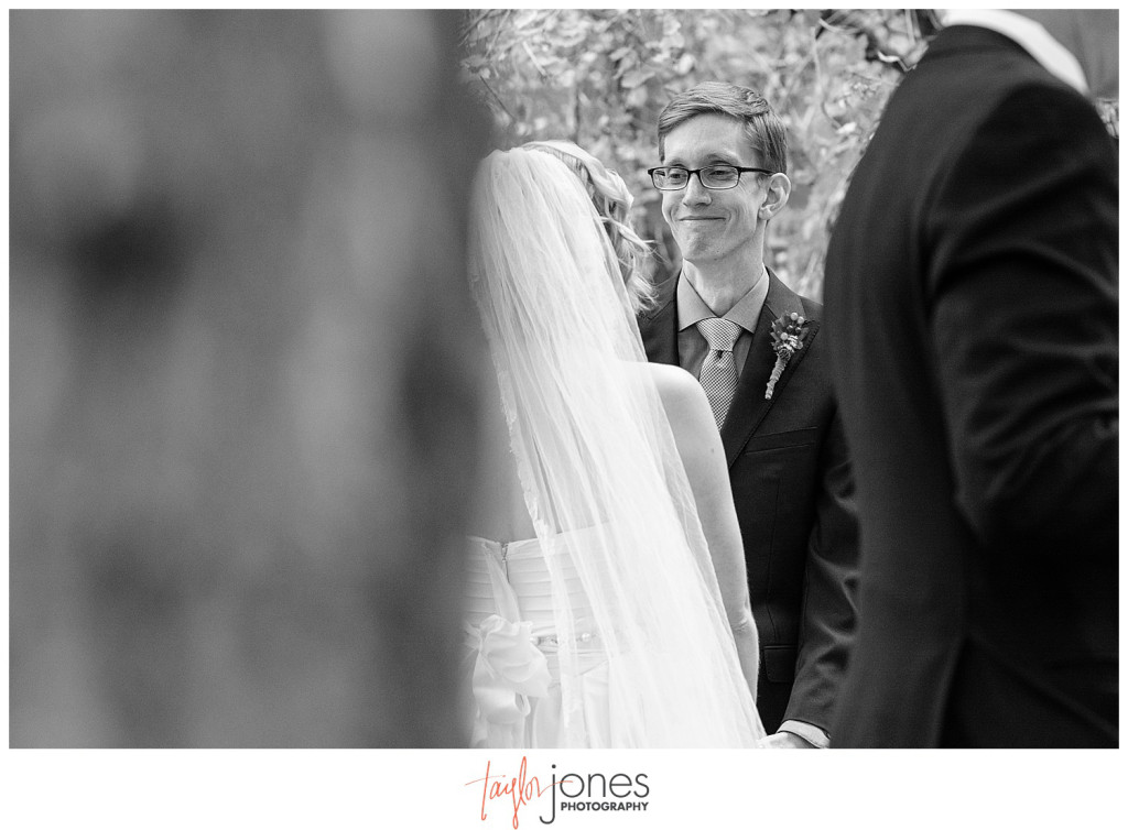 Pines at Genesee photographer fall wedding ceremony