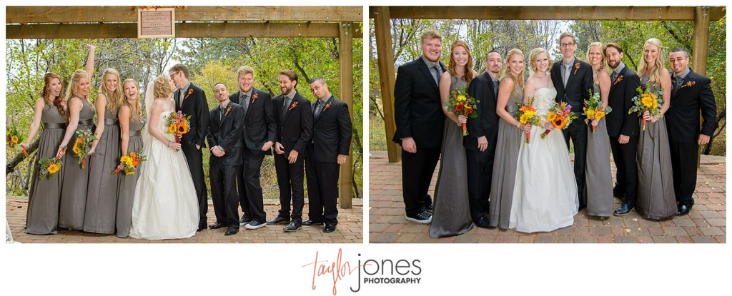 Pines at Genesee photographer fall wedding portraits