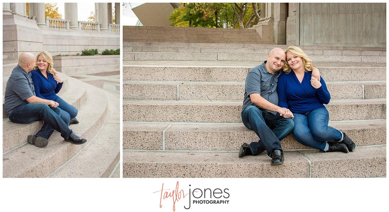 Denver Colorado fall engagement shoot