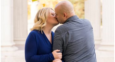 Denver Colorado fall engagement shoot