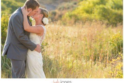 Parker Colorado wedding bride and groom portraits