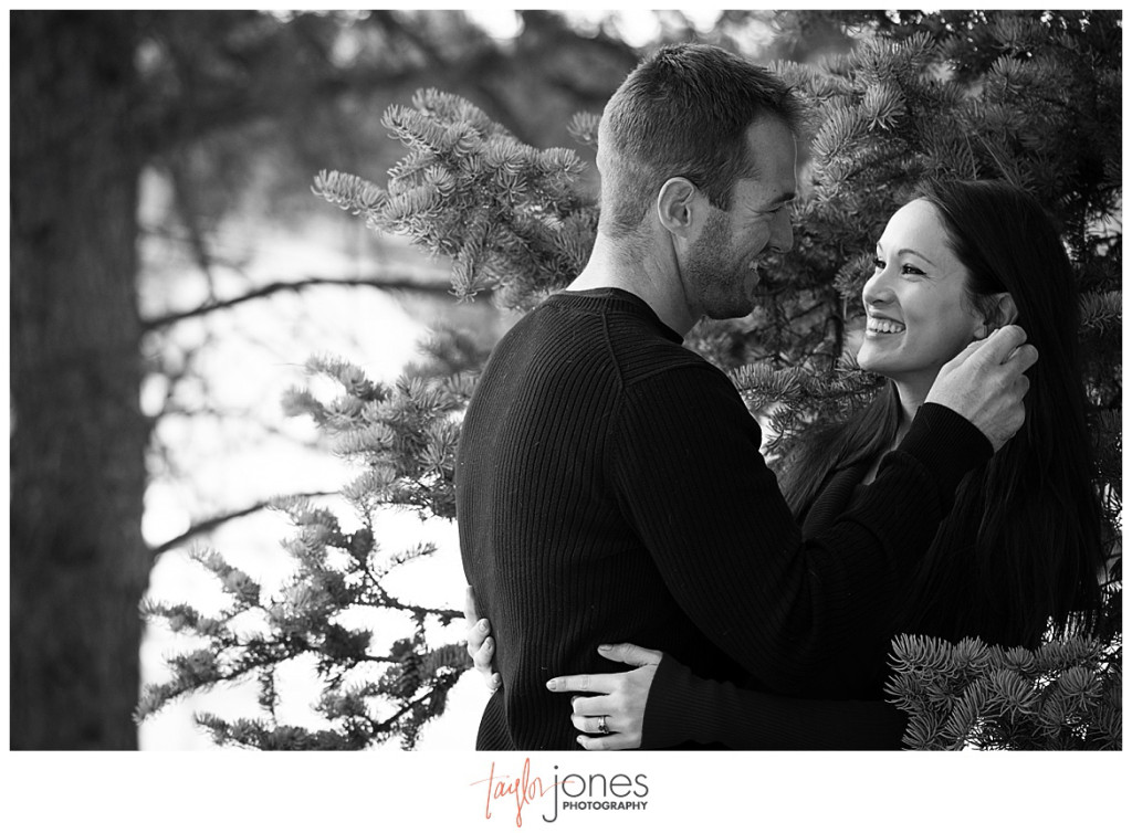 Conifer Colorado mountain engagement shoot photographer